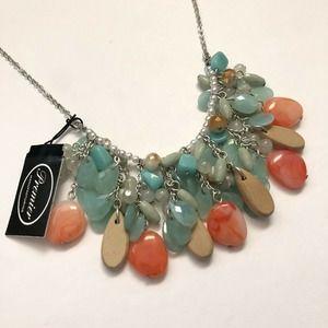 NWT Premier Designs Jewelry Island Vibe Necklace